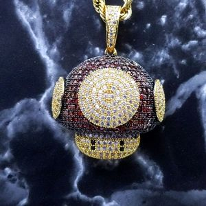 """20""""Rope Chain + 14K Gold Finish Toad"""